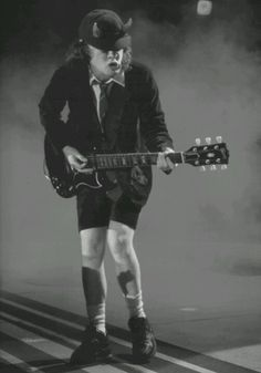 Angus Young - I Love this man.