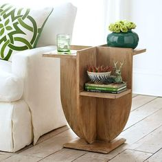 Modernist Side Table. This does NOT go with my decor, at all, but I kinda love it.