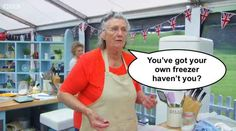 "Diana then said this. | A Cake Scandal Hit ""The Great British Bake Off"" And The British Are Angry"