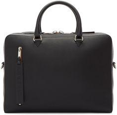 Burberry Black Ainsworth Briefcase