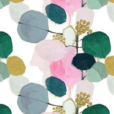 Design pattern wallpaper fabrics Ideas for 2019 Textiles, Textile Patterns, Flower Patterns, Geometric Patterns, Print Patterns, Textile Design, Fabric Design, Watercolor Pattern, Abstract Pattern