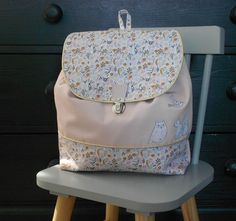 Fashion Backpack, Backpacks, Couture, Sewing, Etsy, Coins, Handmade Bags, Log Projects, Baby Things