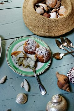 Chouquettes with Chantilly Cream
