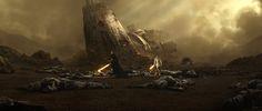 Star Wars :The Old Republic's Fallen Empire : Matte Painting, Nick Hiatt on ArtStation at https://www.artstation.com/artwork/6N6P5