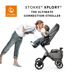 Stokke® Xplory® Stokke's signature height adjustable baby pram - Discover more now