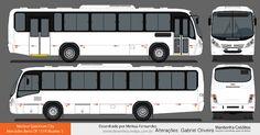 Onibus Marcopolo, Mercedes Benz, Motorhome, Rio, Buses, Paper, Design, City, Activity Toys