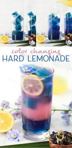 Color Changing Hard Lemonade