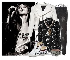 """Rocker Style - Move Like Jagger"" by hattie4palmerstone ❤ liked on Polyvore featuring Jagger, STELLA McCARTNEY, Marc Jacobs, Yves Saint Laurent, Ash, Alexander McQueen, BillyTheTree, rockerchic and rockersty"