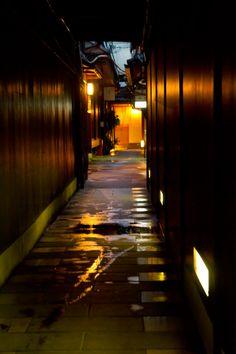 京の路地にて | Kyoto