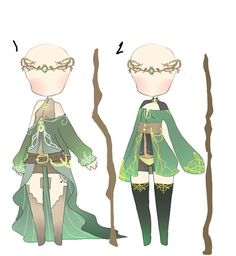 earth sorceress inspired clothes adopt CLOSED by sounds-like-balloons on DeviantArt - earth sorceress inspired clothes adopt CLOSED by… - Manga Clothes, Elf Clothes, Drawing Clothes, Drawing Base, Manga Drawing, Character Outfits, Character Art, Vestidos Anime, Elf Drawings