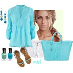Aqua, created by michelled2711 on Polyvore