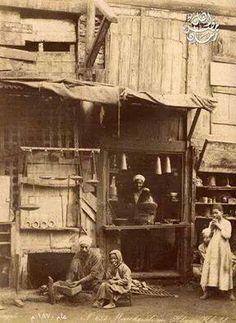 محل بقاله في القرن الثامن عشر 1870
