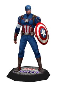 Marvel Captain America Papercraft | Papercraft Paradise | PaperCrafts | Paper Models | Card Models