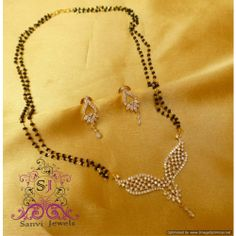 Beautiful Diamond Look Mangalsutra