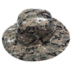 Military Boonie Hat Camo Cover Wide Brim Camouflage Camping Hunting Cap 9ab85bc865c0