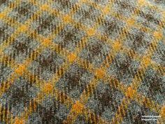 Plaid Wool Blend fabric