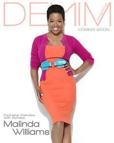 Malinda Williams rocking her all natural TWA (teeny weeny afro)