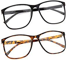 grinderPUNCH Large Nerdy Thin Plastic Frame Clear Lens Eye Glasses Frame 2 Pack: grinderPUNCH Clear lens oversized glasses are fun and cute - Great for dressing up and great for casual use. Best Diy Halloween Costumes, Clever Costumes, Ghost Costumes, Halloween Stuff, Halloween Halloween, Vintage Halloween, Halloween Makeup, Costume Ideas, Glasses Trends