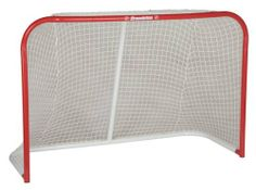 Franklin Sports Pro Professional Steel Goal, 72-Inch by Franklin. $114.95. Goal Size: 72 (w) x 48 (h) x 30 (d)-Inch. Heavy weight 10,000D polyester pre-fit net. Welded loops for durable rope-weave net attachment. Reinforced rope edge net perimeter (rope ties included). Extra heavy gauge 1.5-Inch (1.0-mm wall) steel tubing, Precision tube fittings provide rigid construction. The Franklin Professional Street Hockey Steel Goal is a high-quality street / roller hockey goal built of ...
