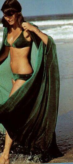 Vogue Paris 1974 Barbara Minty Photo by Mike Reinhardt