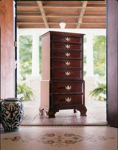 Kincaid Furniture, Carriage House Lingerie Chest - solid wood!