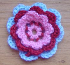 tut8 1 Five Best Crochet Flower Tutorials