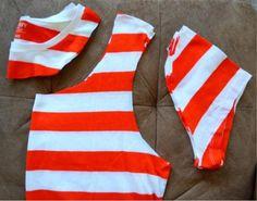 Veske av t-skjorte uten å sy