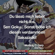 #Garp  #OnePiece #AnimeZitate