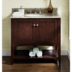 "Fairmont 1513-VH36 Shaker Americana 36"" Vanity - Open Shelf"
