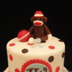 Monkey Babyshower Cake  By Katiecakeshouston CakesDecorcom cakepins.com