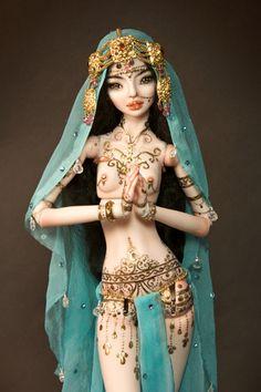 Makhdot - Enchanted Doll by Marina Bychkova