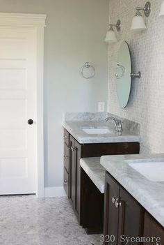 Sherwin Williams Silver Strand Paint is one of the best gray paint colours with blue and green undertones. Best Gray Paint Color, Blue Gray Paint, Green Paint Colors, Blue Colors, Wall Colors, Gray Color, Sherwin Williams Silver Strand, Silver Strand Paint, Blue Green Paints