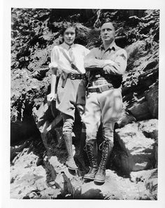 "Most badass couple award goes to: Anna (""Vesse"") and Odd Dahl by Smithsonian Institution, via Flickr"