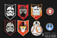 The Limited Edition Fourth Awakens Morale Patch Collection is here and honors the newest class of characters from our favorite galaxy far, far away!  LIMITED OFFERING - SHOP NOW → http://itstac.tc/1PzVVyx