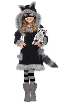 I know this is for little girls. But I want this for me. Toddler Sweet Raccoon Costume