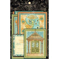Graphic 45 Artisan Style Journaling & Ephemera Cards