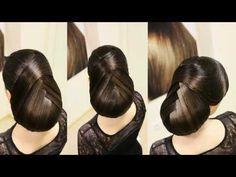 Прическа в греческом стиле, прически из длинных волос - YouTube