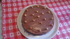 Cheesecake alla Nutella preparata apposta per la visita, direttamente da Corigliano, del mio amico Pietro!