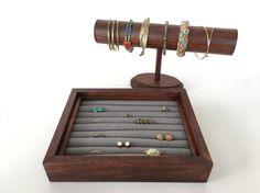 Choisissez votre propre grand Bracelet/boucles d'oreilles organisateur de jeu, sélectionnez tâche/tissu, porte boucle d'oreille clous, boucle d'oreille organisateur, présentoir à bijoux