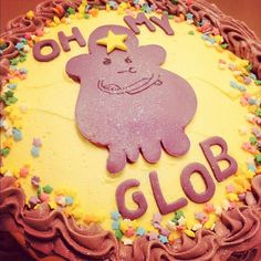 Adventure Time Lumpy Space Princess cake by releasethestars on Flickr