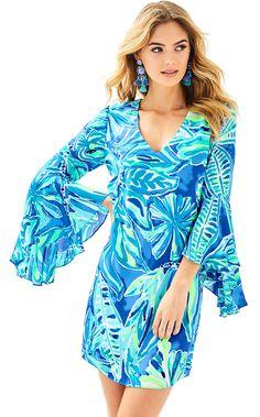 f101f2d0e9fcd0 Lilly Pulitzer Womens Rosalia Dress (Size 0) Resort Dresses, Summer Dresses  For Women