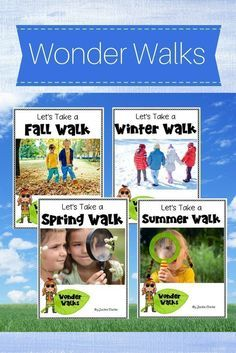 """Take learning outdoors with these """"signs of the season"""" nature walks. The activities invite learners to use their five senses to observe and take notes as they explore seasonal changes in their school environment or backyard. Included is a printable """"sto Science Writing, Science Activities, Primary Science, Kid Science, Science Ideas, Outdoor Activities, Inquiry Based Learning, Project Based Learning, Teaching Weather"""
