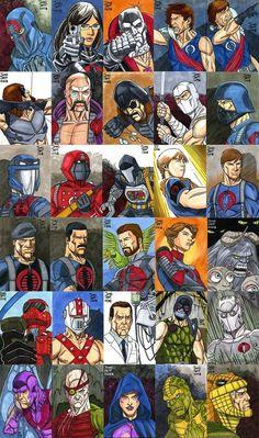 Cobra (and Joes as Cobra) Gi Joe, Storm Shadow, Snake Eyes, 90s Cartoons, Classic Cartoons, Star Wars Characters, The Villain, Comic Character, Transformers