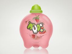 Nude Jr Strawberry Milk by Andrianto Kwan, via Behance