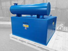 A Electro Suspension Magnet ready for despatch to a UK-based bulk materials handling plant designer