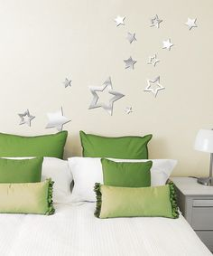 Take a look at this Mirror Stars Acrylic Wall Decal Set by Lot 26 Studio on #zulily today!