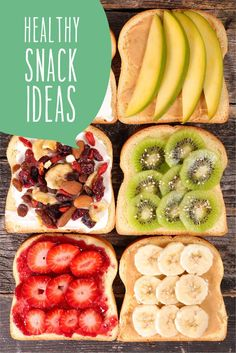 6 Healthy Snack Ideas Your snacking is about to get inspired! Try one of these tasty, easy, and healthy treats. Healthy Food List, Healthy Treats, Healthy Recipes, Dog Recipes, Real Food Recipes, Yummy Food, Yummy Snacks, After Life, Kids Diet