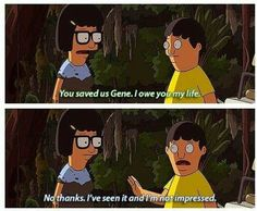 Tina and Gene Belcher