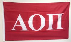 Hey, I found this really awesome Etsy listing at http://www.etsy.com/listing/163082781/alpha-omicron-pi-letter-sorority-flag-3