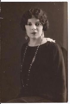 MRS PRESTON GIBSON PRESS PHOTO AMERICAN JOURNALIST NEW YORK CITY VINTAGE 1910S